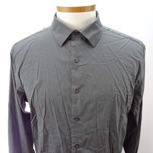 Alfani Slim Fit Men's Black Long Sleeve XL NWOT